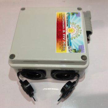 DIY 12 volt adaptor box