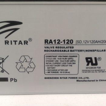 Ritar 120 A/H Deep Cycle Battery