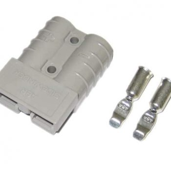 50 Amp Anderson plug with pins (grey)