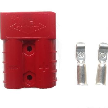 50 Amp Anderson plug with pins (red)