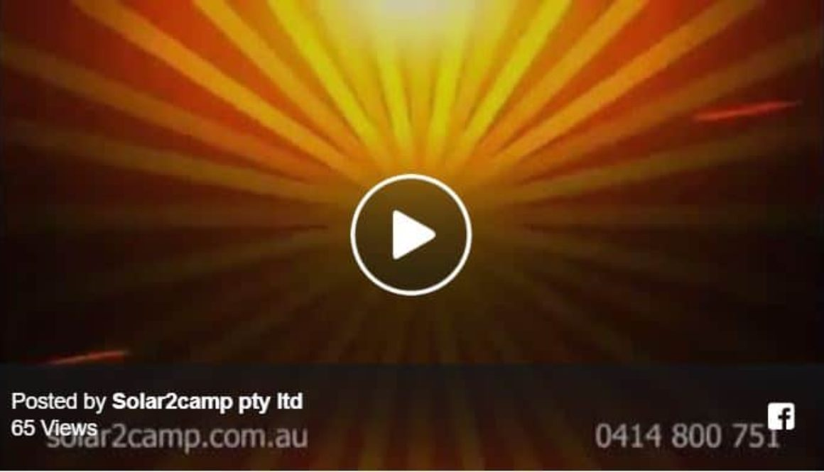 Solar2Camp television commercial