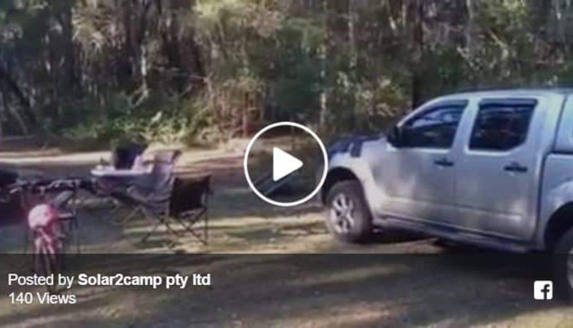 LED light camp site testing