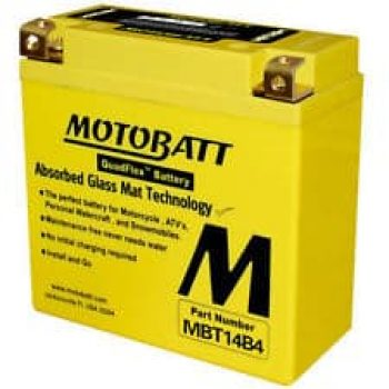 Motorbike Battery MBT14B4