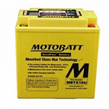Motorbike Battery MB16AU