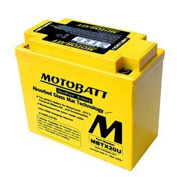 Motorbike Battery MBTX20U