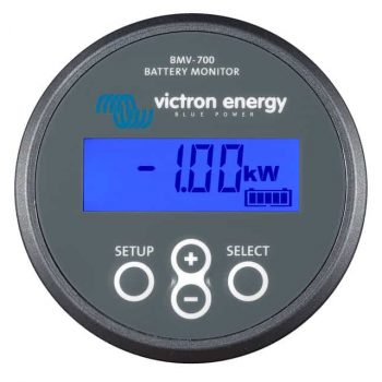 Victron Battery Monitor BMV-700 series.