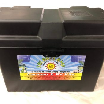 Battery Box - Non Powered Lge Adjustable 400L x 245W x 275H