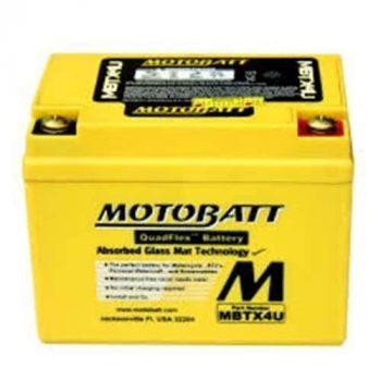 Motorbike Battery MBTX4U 12V