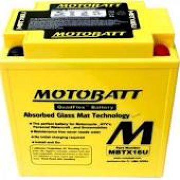 Motorbike Battery MBTX16U