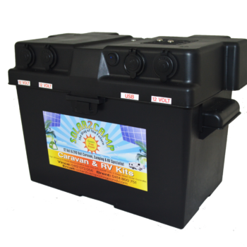 Solar 2 Camp Battery Box
