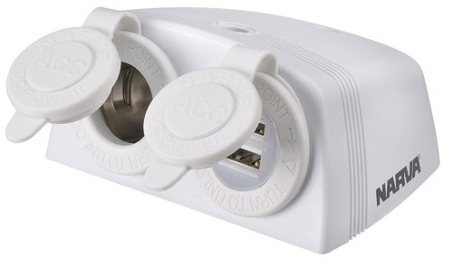 Solar 2 Camp USB socket