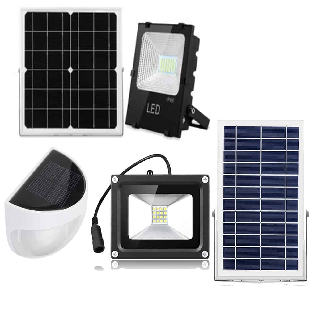 Solar lights, solar flood lights and solar camping lights