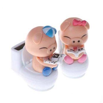 Solar Pig Toy