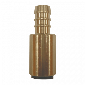 """John Guest 12mm 1/2"""" Tube to Hose Brass"""
