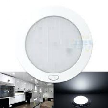 LED Ultra slim opal down light 216mm 12v