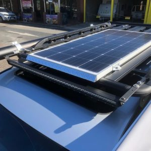 Customised Portable Solar Panel Installation