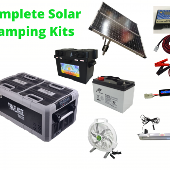 Complete Camping Solar Kits