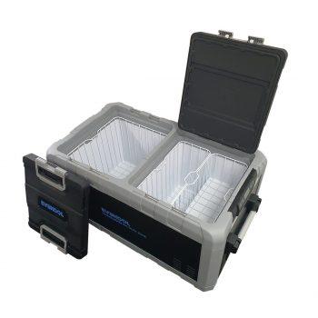 TMDZ-95. 96 Litre Travelmate Dual Zone Fridge/Freezer.